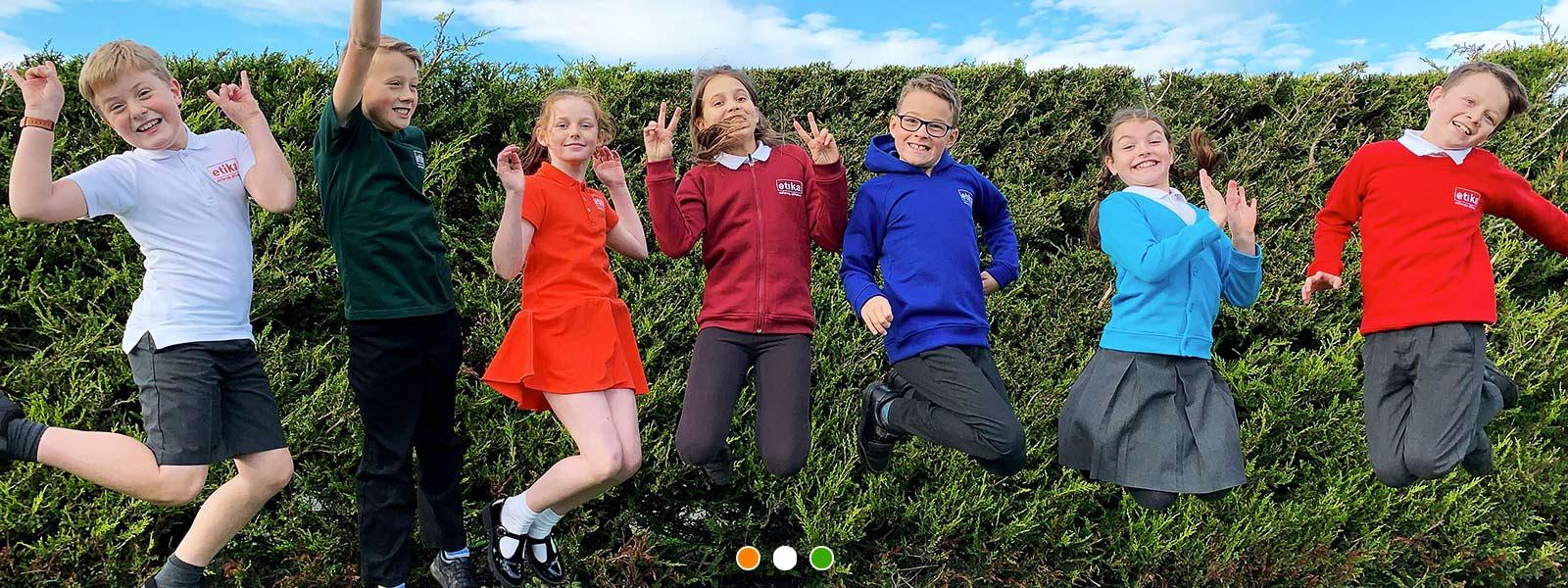 Green Lane School kids photo