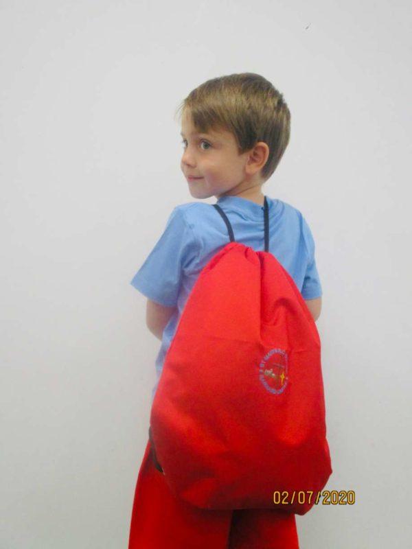 St. Mary's RC Primary School Barnard Castle PE Bag